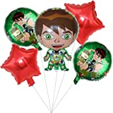 Ben10 Balloons Birthday Party Supplies for Kids Baby Shower Party Decorations