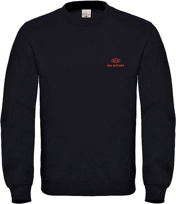Caprica91 Kia Motors Bestickte Logo Sweatshirts Vip Super Qualität 100 Cotton 6115 Sw Bekleidung