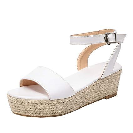 1cd7419eec166 Amazon.com: ❤ Mealeaf ❤ Women's Ladies Strap Ankle Buckle ...
