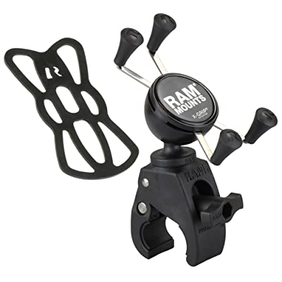 RAM X-Grip Phone Mount with RAM Snap-Link Tough-Claw: Automotive