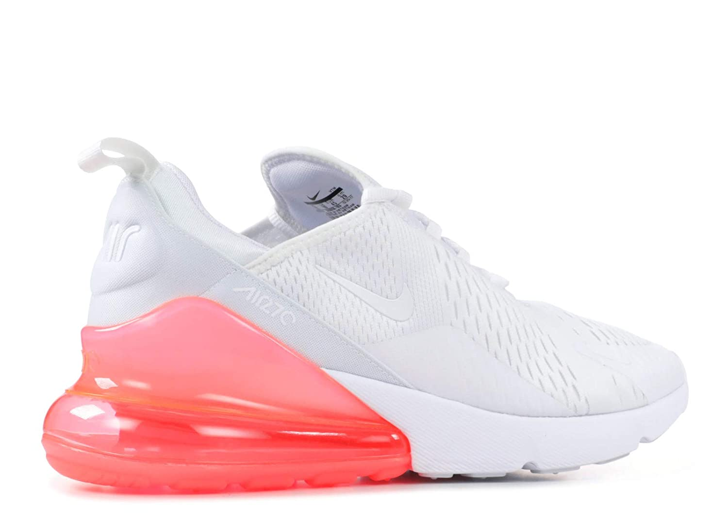 Nike Air Max 270 White Pack Hot Punch