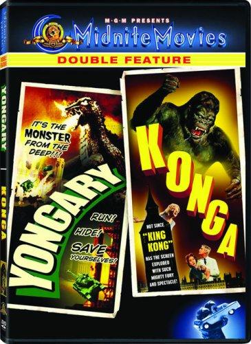 DVD : Yongary Monster from the Deep & Konga (Sensormatic)