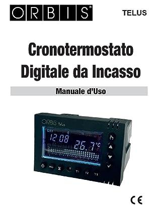 Orbis TELUS cronotermostato sett. de integrado, Alim. 230 V AC