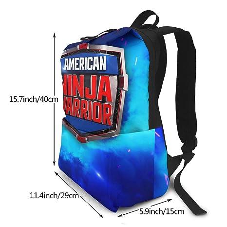 Amazon.com: PcldLoeE-00 Backpack American Ninja Warrior ...