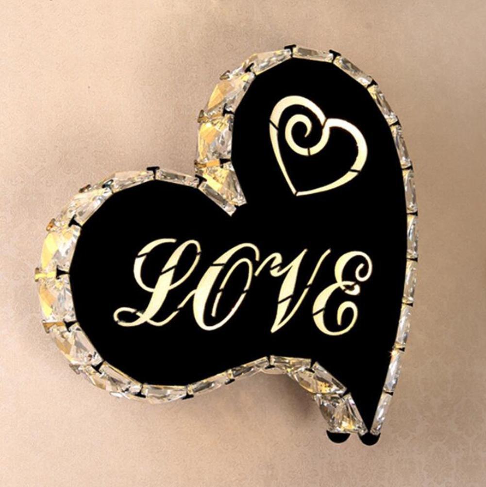 OOFAY LIGHT® Wandlampen Heart-shaped Modern LED Zwei-Farben-Beleuchtung Innenwandleuchte Nacht Dekoration Schlafzimmer Wohnzimmer