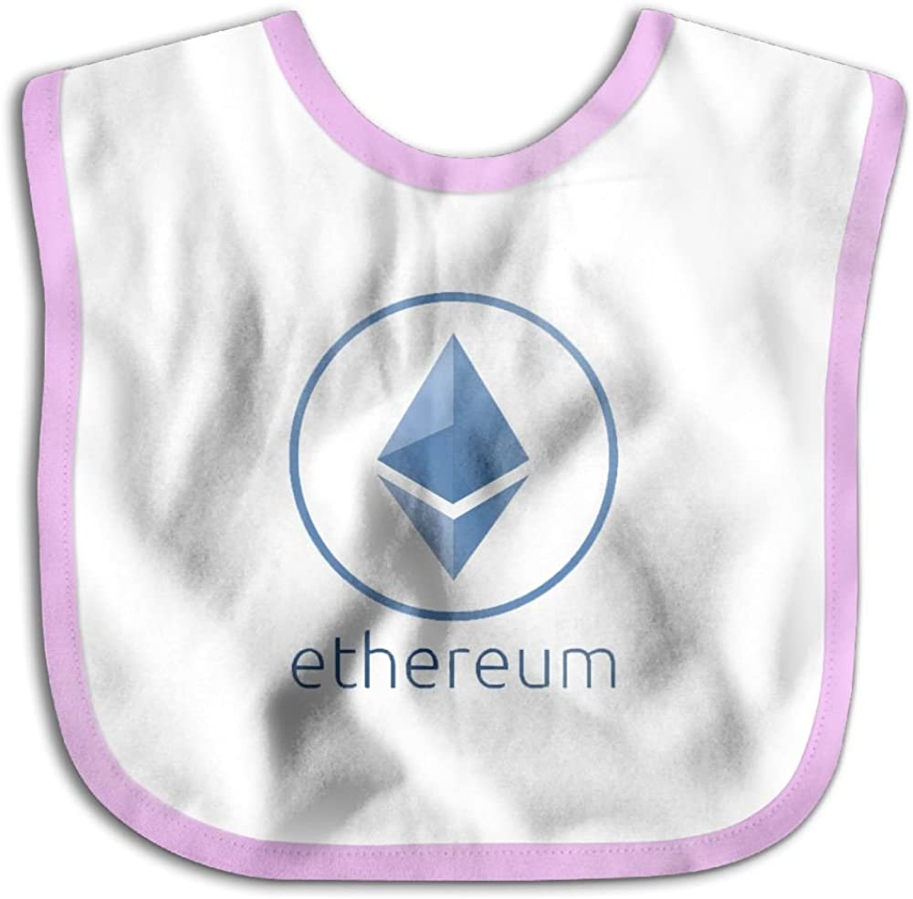 Marima Ethereum Personalized Scarf Bib Feeding /& Teething Fancy Baby Bibs and Burp Cloth Polyester Cotton