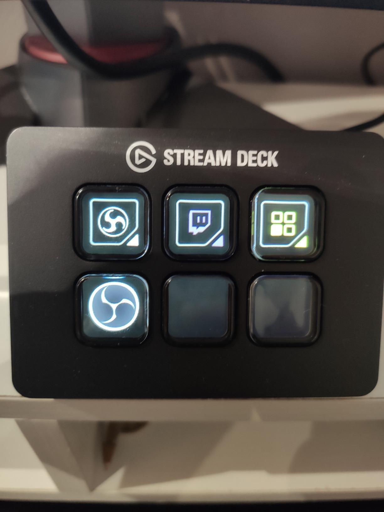 Elgato Stream Deck Mini - Controlador para creación de contenido en directo con 6 teclas LCD personalizables, para…