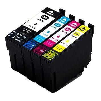 Karl Aiken compatible Cartuchos de Tinta Epson 34 XL (1 ...