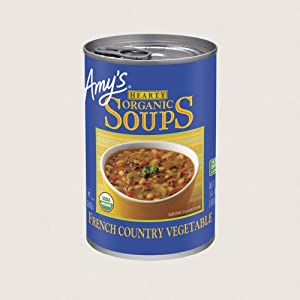 Amy's French Country Vegetable Hearty Organic Soup, 14 oz, (Pack of 12)