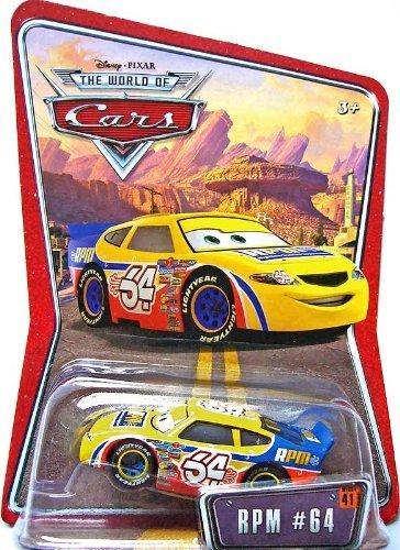 Amazon com: Disney Pixar Cars RPM #64 1:55 Racer Die-cast
