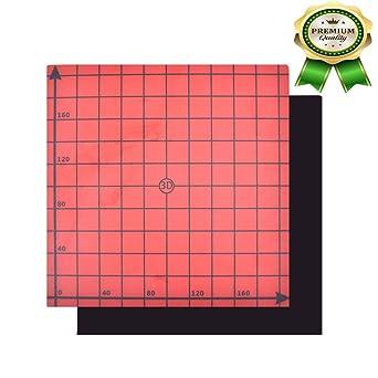 HOT 220//220mm 3D Printing Build Surface Printer Heat Bed Platform Sticker Sheet
