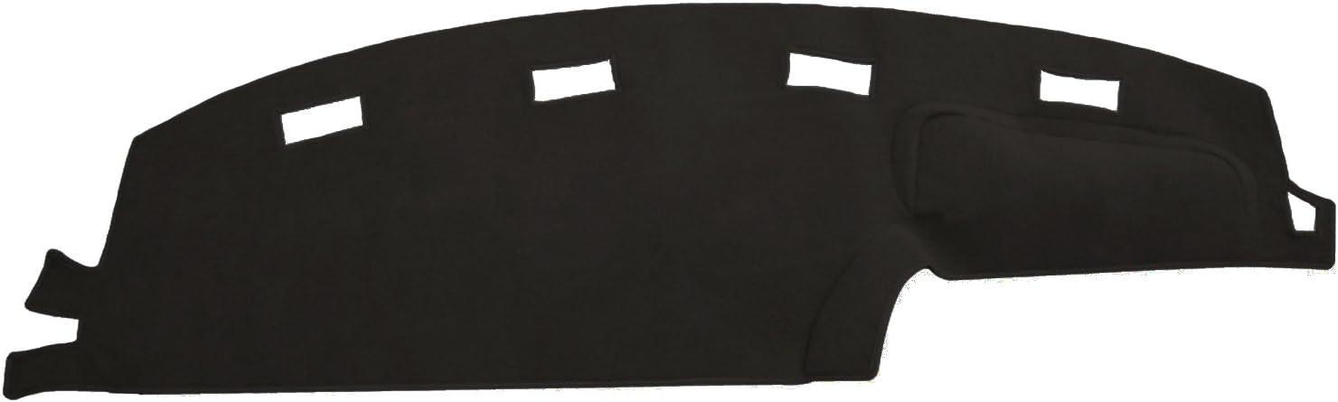 Hex Autoparts Dash Cover Mat Pad Carpet for Dodge Ram 1500 2500 3500 1994 1995 1996 1997 (Black)