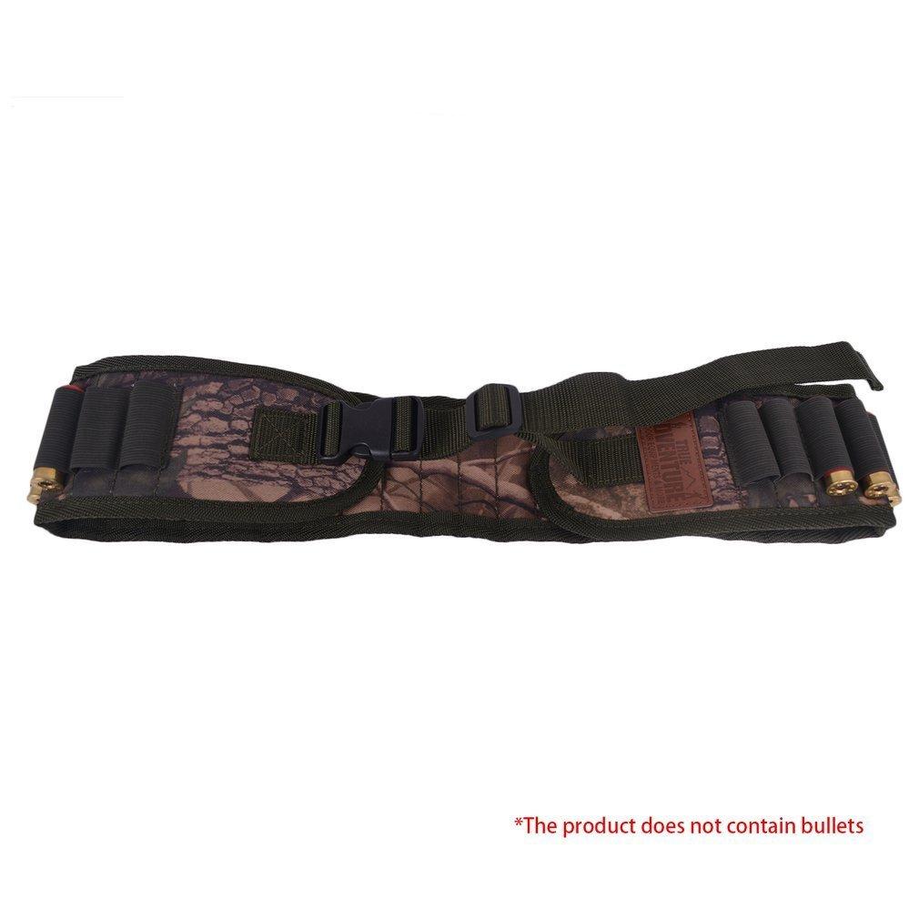 Sungpunet 30 Colpi Conchiglie Munizioni Cintura Shotgun cartucce Carrier Vita Regolabile Cintura Modo di esercitare