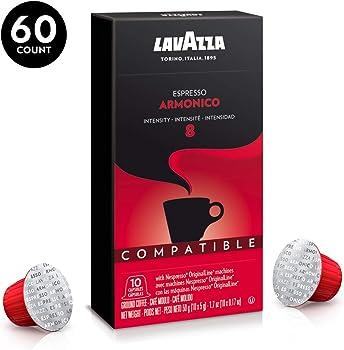 Lavazza Pack of 60 Nespresso Compatible Capsules