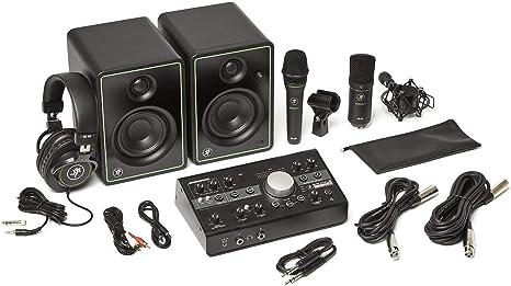 Pack Mackie Studio Bundle BigKnobStudio, 2 micras, monitor de estudio: Amazon.es: Instrumentos musicales