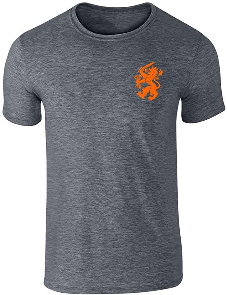 Dutch Soccer Retro National Team Holland Costume Graphic Tee T-Shirt for Men