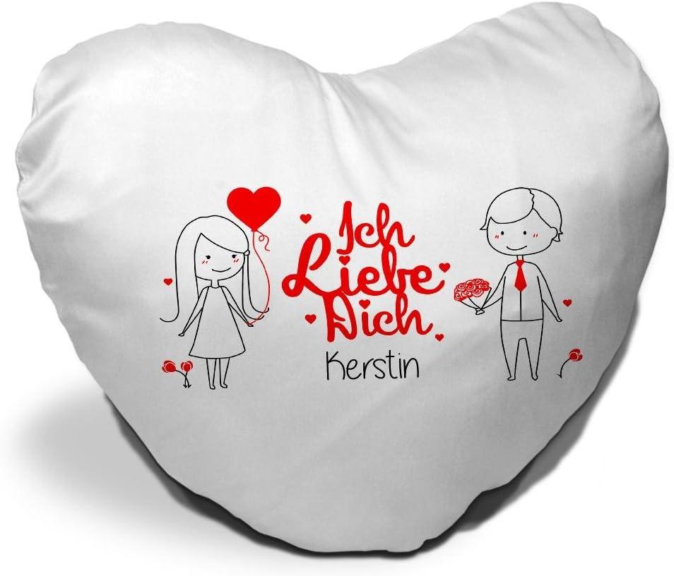 Kissen Geschenk 40 40 Valentinstag Geschenk Freund Freundin Liebe Love Friend you and me du und ich