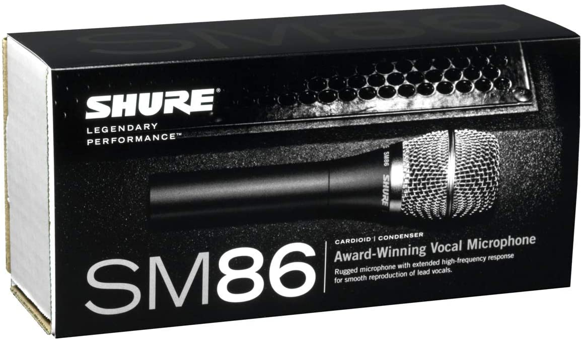 Shure SM86-LC Cardioid Condenser Vocal Microphon