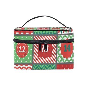 Amazon.com: Maquillaje Train Casos Navidad Adviento ...