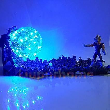 Lights & Lighting Dragon Ball Z Son Goku Spirit Bomb Blue Led Base Diy Set Night Lights Anime Dragon Ball Super Dbz Led Table Lamp Christmas Decor Led Lamps