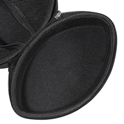 Hard Carry Travel Bag Case for iJoy Matte Finish Premium Rechargeable Wireless Headphones Bluetooth Over Ear Headphones Foldable Headse by Aproca (Image #3)