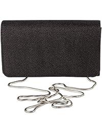 Sparkle Jacquard Flap Clutch, Formal Evening Handbag Purse