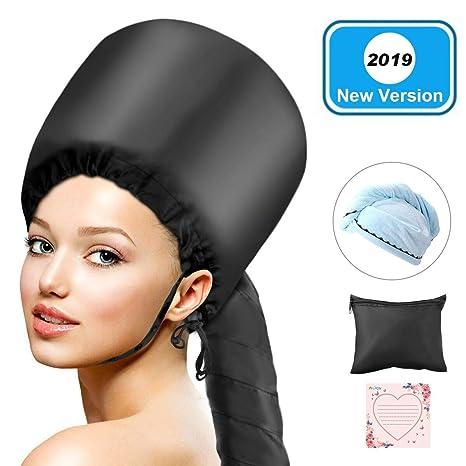 Secador de pelo con capó LC-dolida, suave capó con capucha, secador de