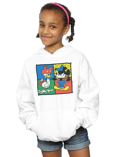 Disney Niñas Mickey Mouse Donald Clothes Swap Capucha: Amazon.es: Ropa y accesorios