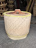 Product review for Handmade Basket of Thai Rice Rattan from Thailand Natural Environmental Protection Natural Environmental Protection