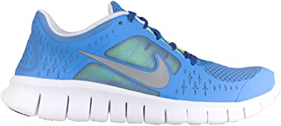 Nike Free Run 3 GS Coast Blue Silver