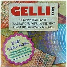 Gelli Arts Gel Printing Plate 6X6Inch Square