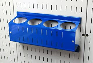 product image for Wall Control Pegboard Spray Can Holder Bracket and Aerosol Can Organizer for Wall Control Pegboard and Slotted Tool Board – Blue