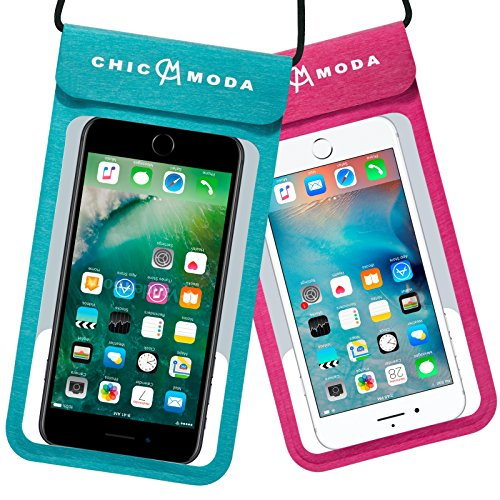 Waterproof Phone Case, CHICMODA Waterproof Phone Pouch Dr...