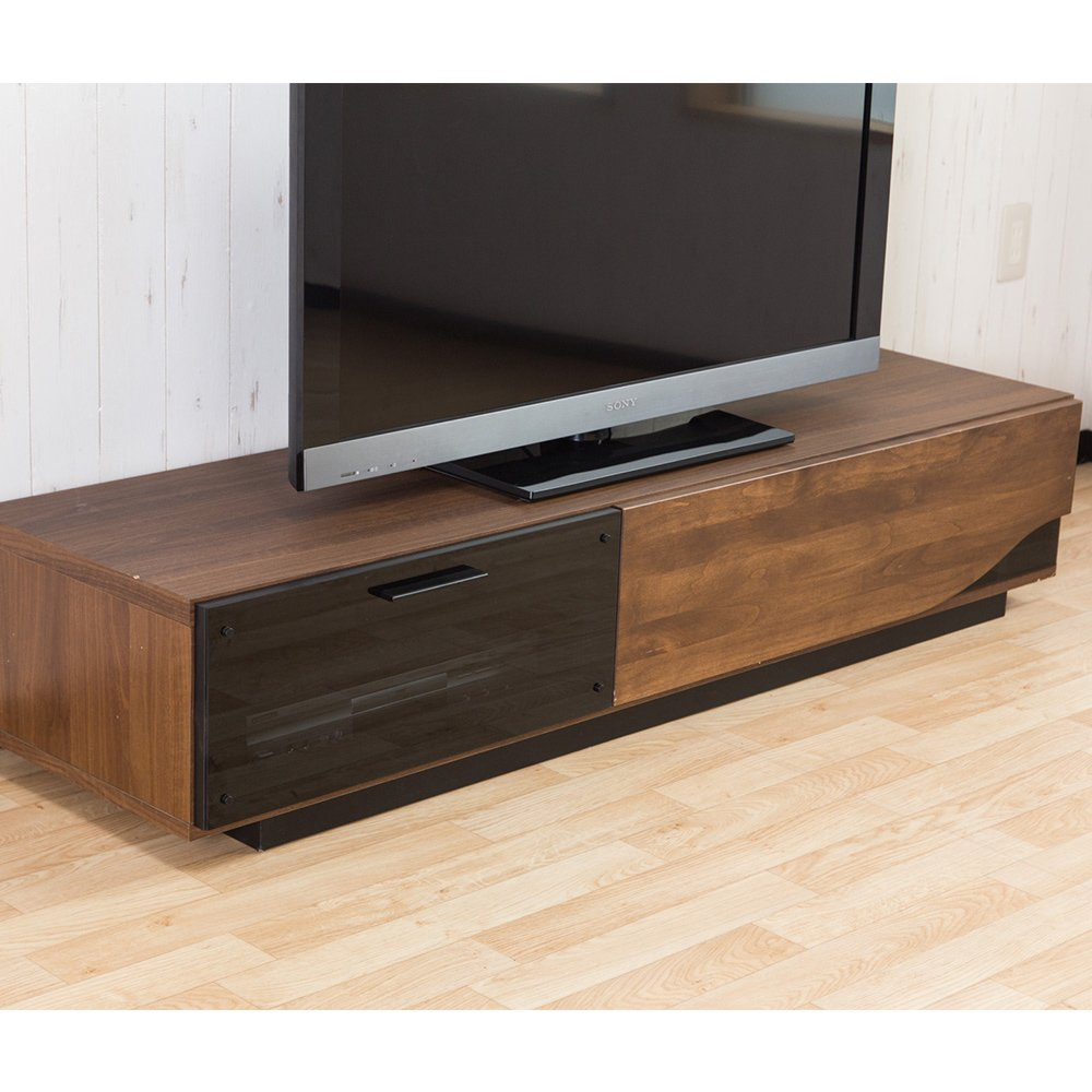 テレビ台 ローボード BOREAL ブラウン 色 B010SNXUQ4 ブラウン