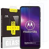 iTieTie 2-pack skärmskydd för Moto One Macro 6,2 tum, bubbelfri, högupplösning, anti-repor, 9H hårdhet, premium härdat…