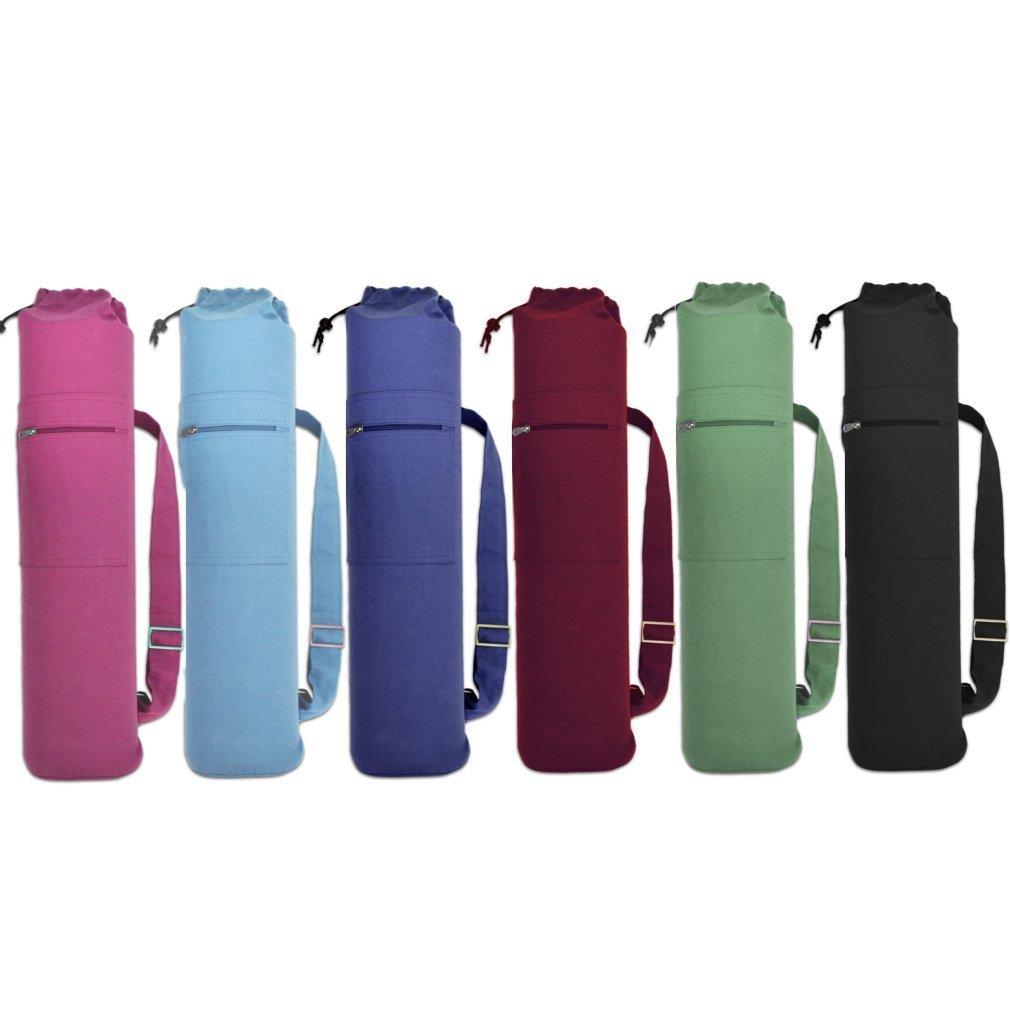 YogaAccessories (TM - Bolsa de algodón con cordón para ...