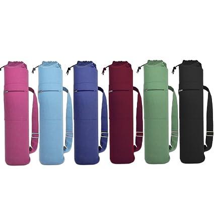 Cotton Drawstring Yoga Mat Bag