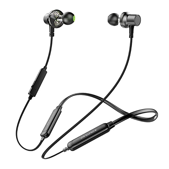 Good-Memories G20BLS Neckband Wireless Earphone Sport Bluetooth Headphone Dual Battery with mic Headset Earpiece