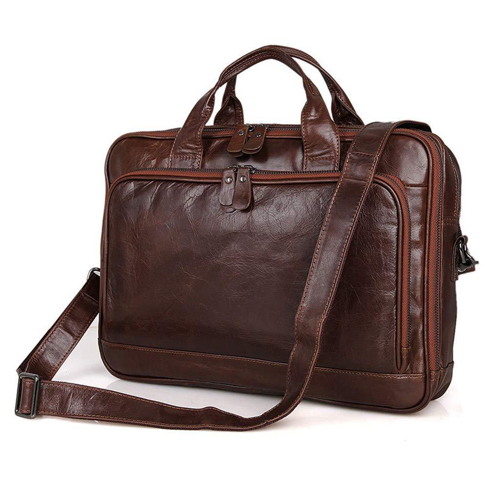 Bxfdc Briefcase Business Bag Laptop Bag Portable Shoulder Messenger Bag