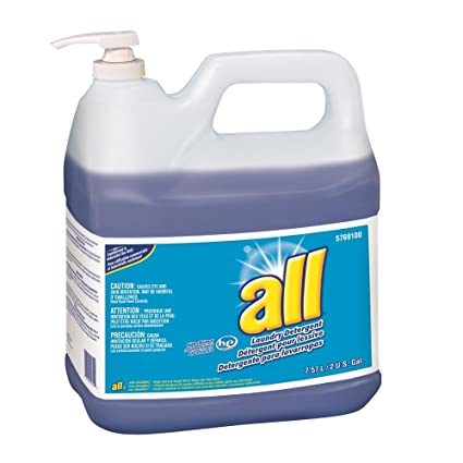 amazon com all laundry detergent he 2 gallon 2 pack industrial