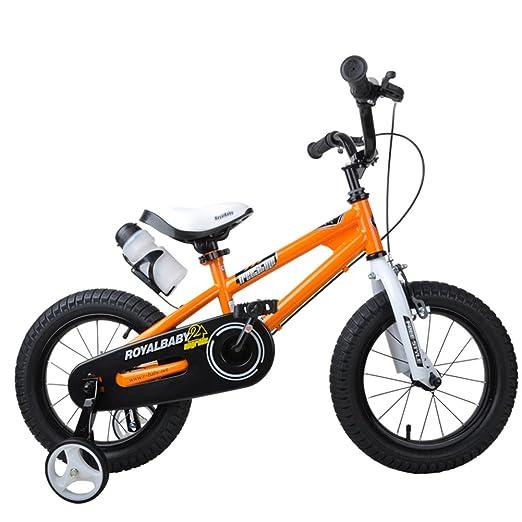 XQ TY-112 Chicas 14/12/16/18 Pulgada Bicicleta - Naranja (Tamaño ...