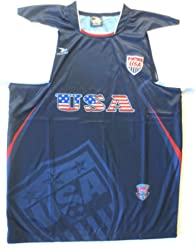 9b877dae2 USA AWAY SOCCER JERSEY SIZE LARGE .NEW