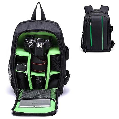 a113db204171 Amazon.com: DSLR Camera Bag, Aolvo Waterproof Shockproof Multi Use ...