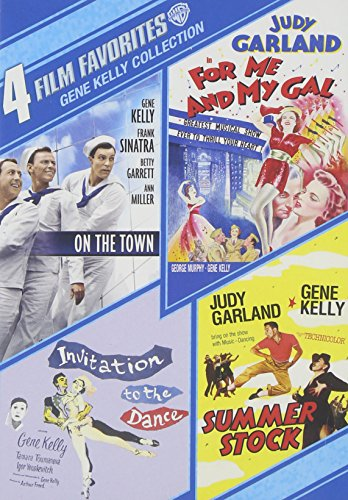 4 Film Favorites: Gene Kelly (For Me and My Gal, Invitation to the Dance (1956), On the Town (Sinatra Tribute), Summer Stock) from Warner Manufacturing