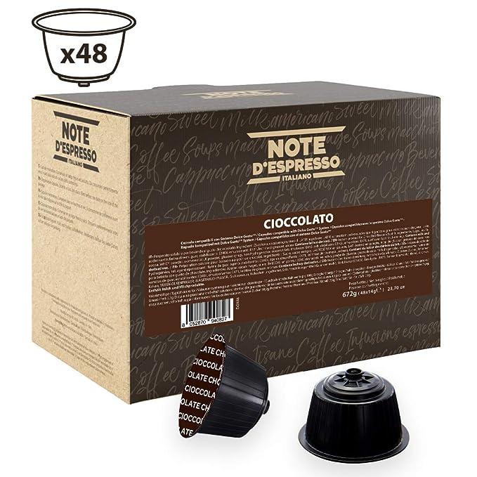 Note DEspresso - Cápsulas de chocolate compatibles con cafeteras ...