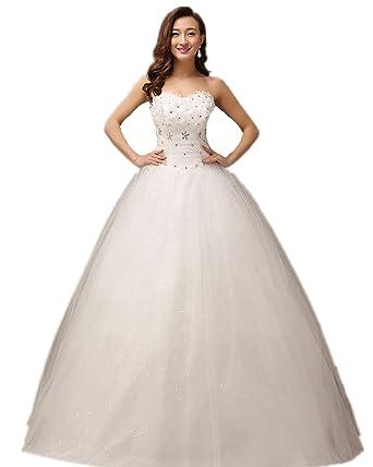 atopdress@ XF06 Wedding bride wear big day dress eveing ball prom dress party wear (