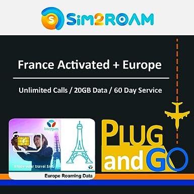 Tarjeta SIM prepagada Europa 3/6/10/20 GB para 30 y 60 días - Reino Unido, Alemania, Francia, Italia, España, Irlanda, Suecia: Amazon.es: Electrónica