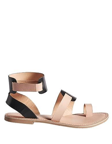 ICHI Gladiator Leather Sandals Kaufen Online-Shop