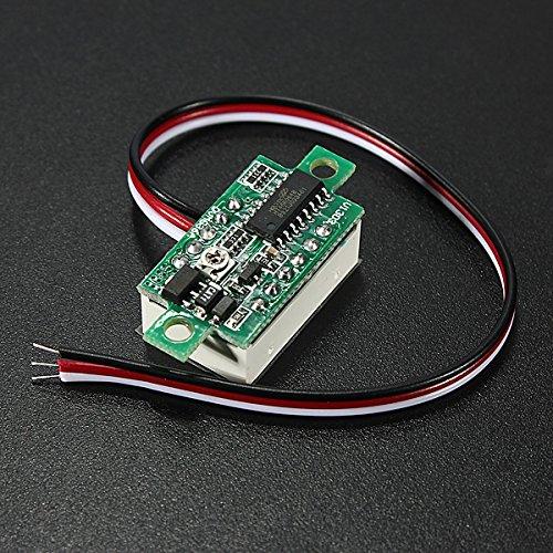 DC 0-32V 3-Digital LED Display Volt Meter Voltmeter by SPK603