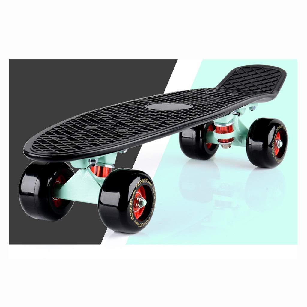 SGLI 大人のスケートボード、ストリートスクーター、四輪ハイウェイ、スケートボード スケートボード (Color : B) B